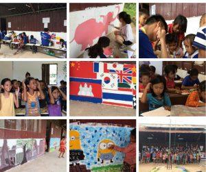 Kreatives Schulprojekt