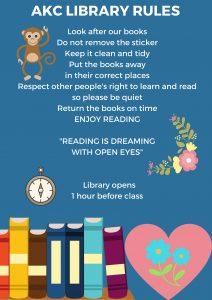 Regeln Bibliothek Schule