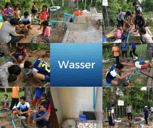 Intallation Wasserpumpe