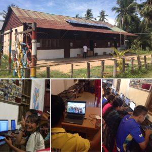 Strom, Laptops und Internet im AKC