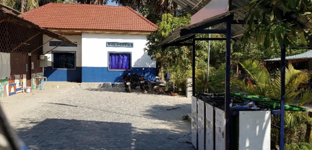 Ein neuer Schulhof