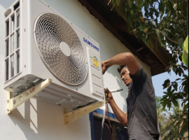 Installation Klimaanlage
